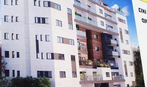 דירת גן של 4 חדרים חדשה בבניין חדש במרכז