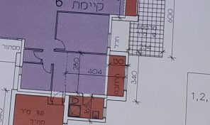 דירה שתיכף תהיה 4 חדרים + מרפסת שמש