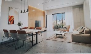 ברעננה דירות 4 חדרים עם מרפסת שמש בפרוייקט חדש